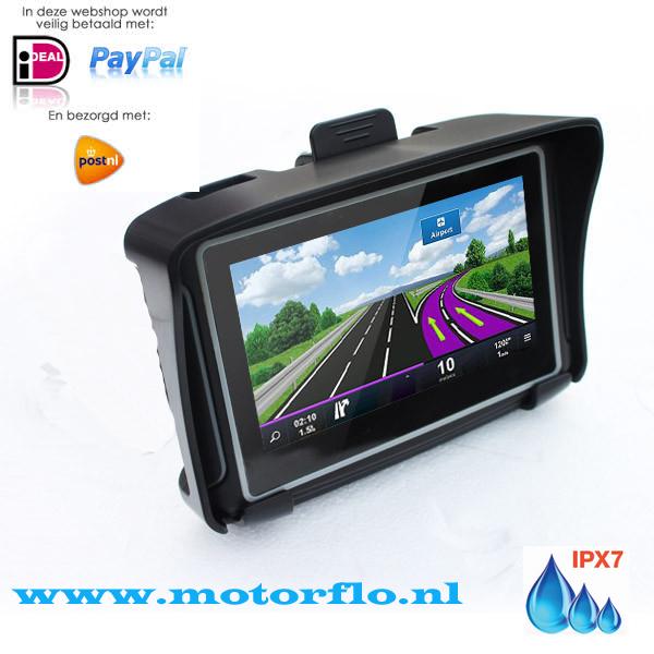 4.3 inch Motor GPS Navigatie met Nieuwste Kaarten Europa software 3.0