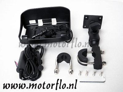 Bevestigingset voor het 4.3 GPS systeem als vervanging of op tweede motor.