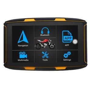 5 inch Motor GPS Navigatie met Nieuwste Kaarten Europa