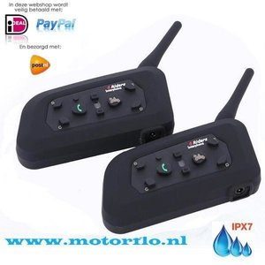 V6 Interphone 6 riders DUO-SET